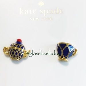 Kate Spade Mix Matched Tea Time Cup Stud Earrings